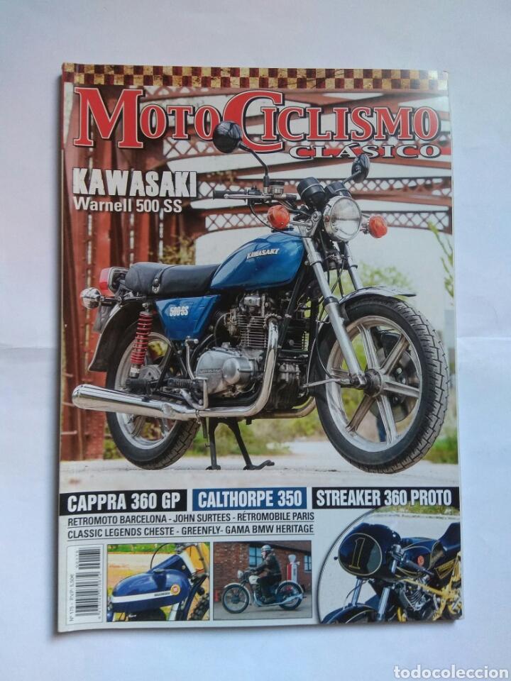 REVISTA MOTOCICLISMO CLÁSICO N175 KAWASAKI WARNELL MONTESA CAPRA BMW HERITAGE STREAKER CALTHORPE (Coches y Motocicletas - Revistas de Motos y Motocicletas)