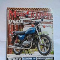 Coches y Motocicletas: REVISTA MOTOCICLISMO CLÁSICO N175 KAWASAKI WARNELL MONTESA CAPRA BMW HERITAGE STREAKER CALTHORPE. Lote 128355075