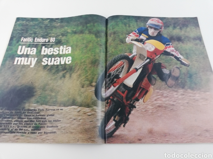 Coches y Motocicletas: REVISTA MOTO VERDE NOVIEMBRE 1981 NUMERO 40, FANTIC ENDURO HONDA CR-250-R VER SUMARIO - Foto 3 - 128554238