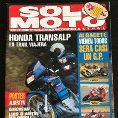 Coches y Motocicletas: SOLO MOTO ACTUAL - Nº 924 - FEB 1994 - HONDA XL 600 / YAMAHA AXIS 50 / HONDA RS 250R / YAMAHA TZ 250. Lote 128643187