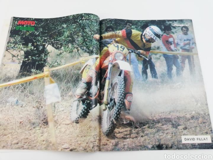 Cars and Motorcycles: REVISTA MOTO VERDE NUMERO 39 OCTUBRE 1981, POSTER DAVID FILLAT, COMPARATIVA ENDURO, VER SUMARIO - Foto 3 - 128652850