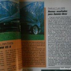 Coches y Motocicletas: ¡¡PRECIOSA REVISTA,MARCA ¡¡AUTOPISTA,,AÑOS1992,4,JUNIO,N,1716. Lote 128874363