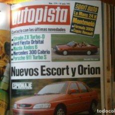Coches y Motocicletas: ¡¡PRECIOSA REVISTA,MARCA ¡¡AUTOPISTA,,AÑOS1992,25 JUNIO,N,1719. Lote 128874971