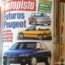 Coches y Motocicletas: ¡¡PRECIOSA REVISTA,MARCA ¡¡AUTOPISTA,,AÑOS1992,16,JULIO,N,1722. Lote 128875427