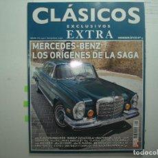 Coches y Motocicletas: CLASICOS EXCLUSIVOS MONOGRAFICO Nº 3 MERCEDES. Lote 128927155