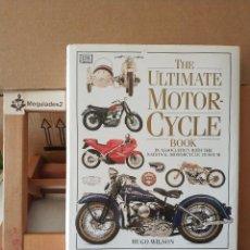 Coches y Motocicletas: THE ULTIMATE MOTOR-CYCLE BOOK - HUGO WILSON /(TAPA DURA SOBRECUBIERTA MUY ILUSTRADO). Lote 129143271