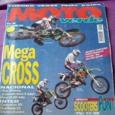 Coches y Motocicletas: ANTIGUA REVISTA MOTO VERDE NUM 206.AÑO 1995. Lote 129142479