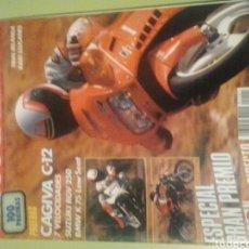 Coches y Motocicletas: MOTOCICLISMO REVISTA DE MOTOS 1989 N 1101 CAGIVA C 12 SUZUKI RGV BMW K 75. Lote 129390218