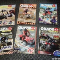 Coches y Motocicletas: 6 REVISTAS QUAD 4X4 AVENTURA. Lote 129554456
