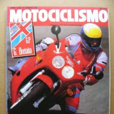 Coches y Motocicletas: MOTOCICLISMO 1224 TRIUMPH DAYTONA 1000 YAMAHA XV VIRAGO 1100 APRILIA AF-1 FUTURA. Lote 129674523