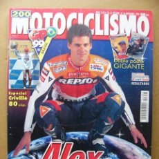Coches y Motocicletas: MOTOCICLISMO 1653 APRILIA SL 1000 FALCO SUPLEMENTO ESPECIAL ALEX CRIVILLE. Lote 129674983