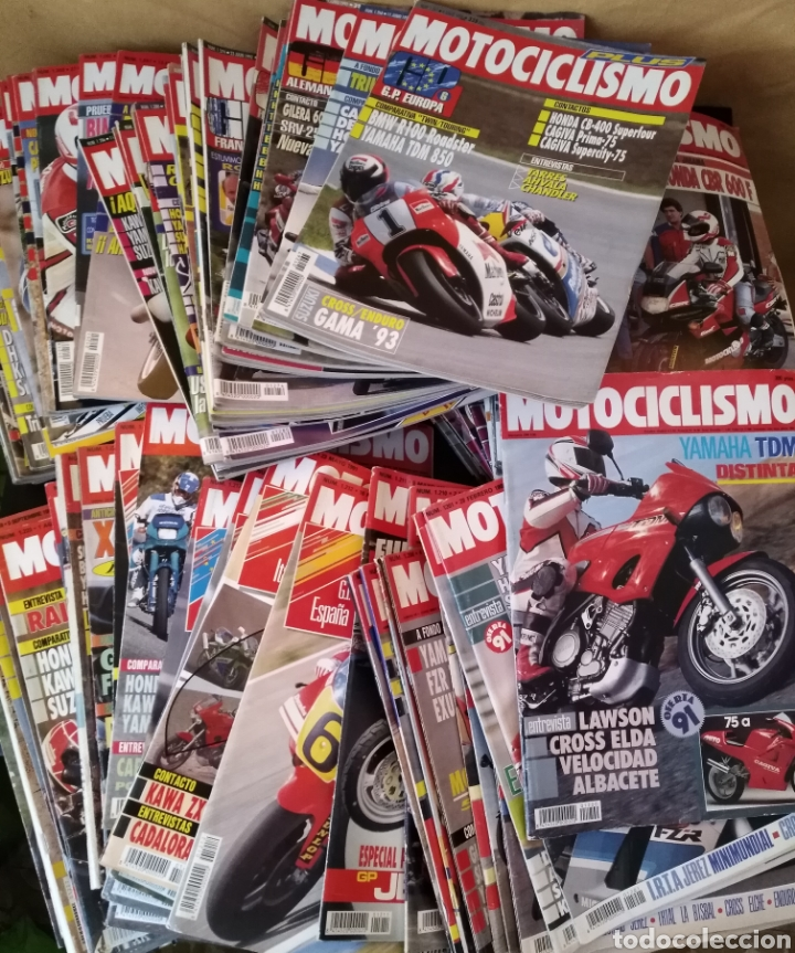 LOTE 83 REVISTAS MOTOCICLISMO 1991-92 COMPLETA COLECCIONISMO (Coches y Motocicletas - Revistas de Motos y Motocicletas)