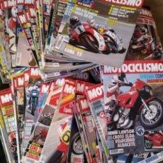 Coches y Motocicletas: LOTE 83 REVISTAS MOTOCICLISMO 1991-92 COMPLETA COLECCIONISMO. Lote 130518056