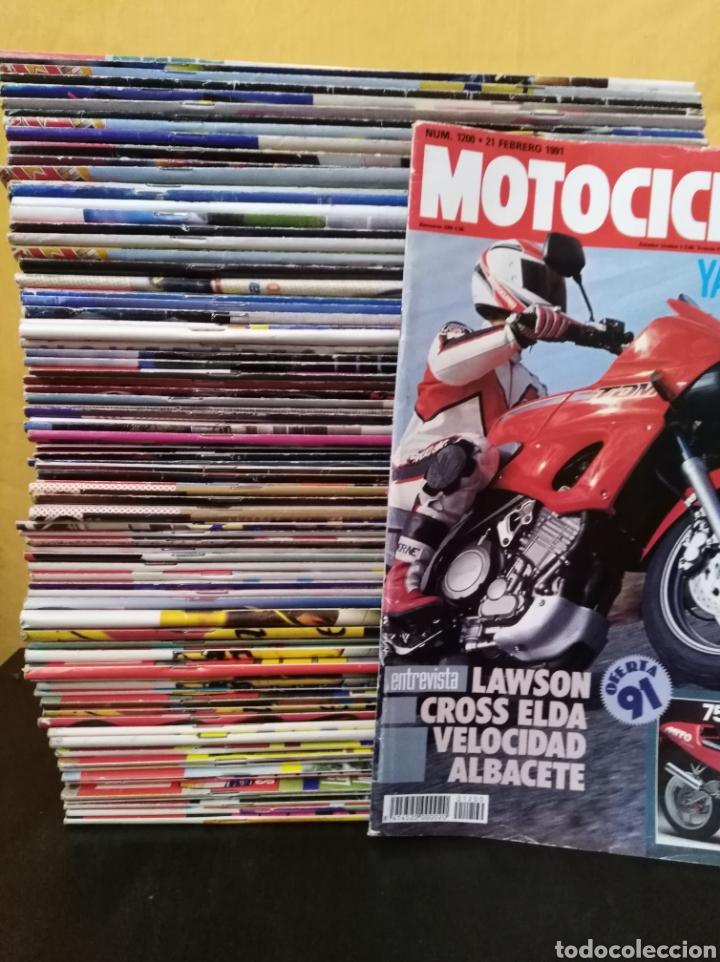Coches y Motocicletas: Lote 83 revistas Motociclismo 1991-92 Completa Coleccionismo - Foto 2 - 130518056