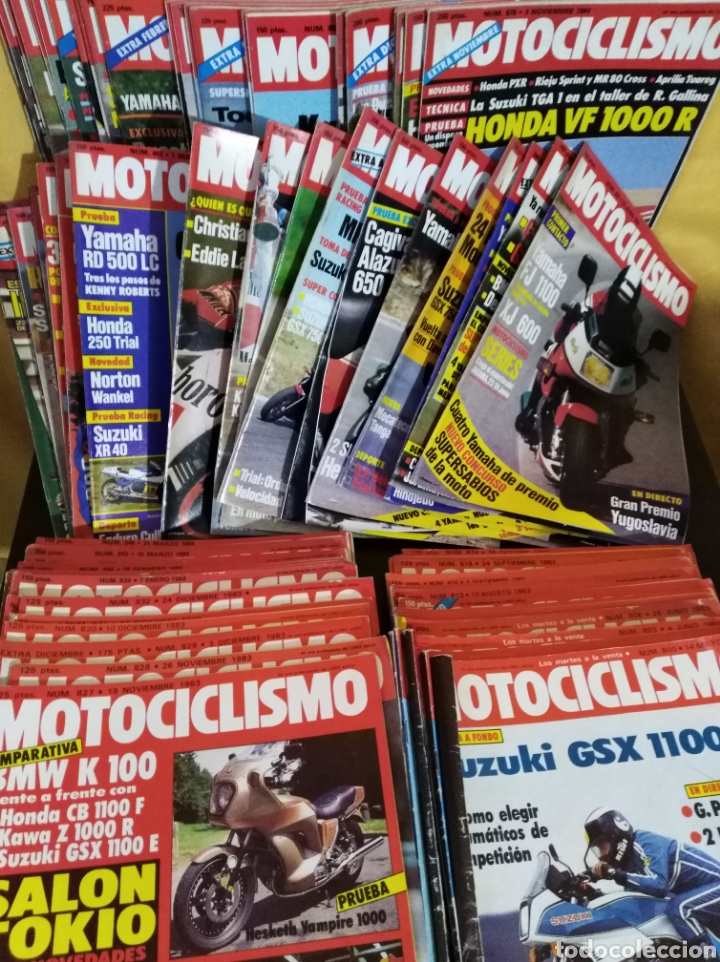 LOTE 98 REVISTAS MOTOCICLISMO Nº800-899 1983-85 COMPLETA COLECCIONISMO (Coches y Motocicletas - Revistas de Motos y Motocicletas)