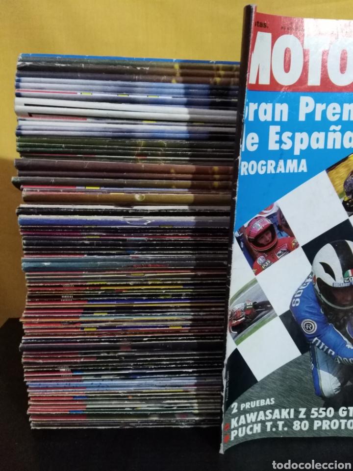 Coches y Motocicletas: Lote 98 revistas Motociclismo nº800-899 1983-85 Completa Coleccionismo - Foto 2 - 130521344