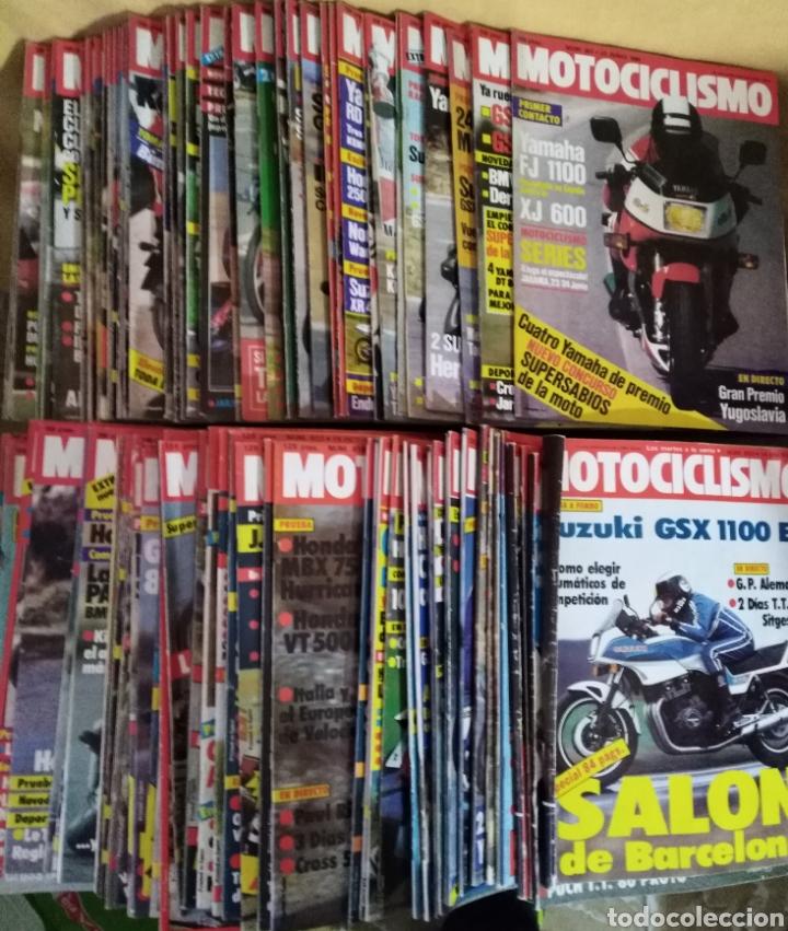 Coches y Motocicletas: Lote 98 revistas Motociclismo nº800-899 1983-85 Completa Coleccionismo - Foto 4 - 130521344