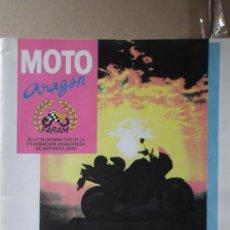 Coches y Motocicletas: REVISTA MOTO ARAGON FARAM NUMERO 10 PRIMER TRIMESTRE 1990 CAMPEONATOS DE ARAGON. Lote 131026864