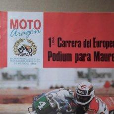 Coches y Motocicletas: REVISTA MOTO ARAGON FARAM NUMERO 11 SEGUNDO TRIMESTRE 1990 ESPECIAL RAIDS PODIUM MAUREL. Lote 131026952