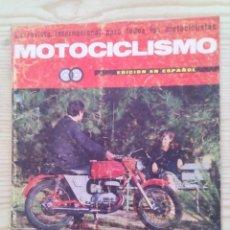 Coches y Motocicletas: REVISTA MOTOCICLISMO 1966 ABRIL. Lote 131178256