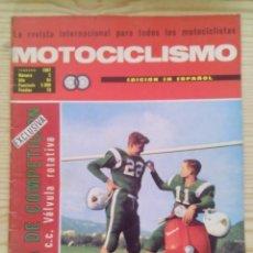 Coches y Motocicletas: REVISTA MOTOCICLISMO 1967 FEBRERO. Lote 131179432