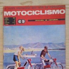 Coches y Motocicletas: REVISTA MOTOCICLISMO 1969 ABRIL. Lote 131180856