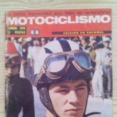 Coches y Motocicletas: REVISTA MOTOCICLISMO 1970 FEBRERO. Lote 131182168