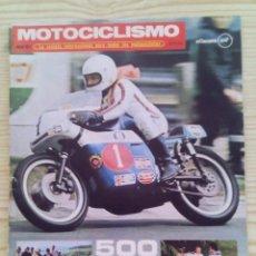 Coches y Motocicletas: REVISTA MOTOCICLISMO 1971 JULIO. Lote 131183508