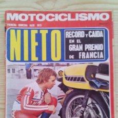 Coches y Motocicletas: REVISTA MOTOCICLISMO 1973 MAYO PRIMERA QUINCENA - SIN POSTER. Lote 131190276