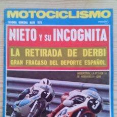 Coches y Motocicletas: REVISTA MOTOCICLISMO 1973 MAYO SEGUNDA QUINCENA - SIN POSTER. Lote 131190336