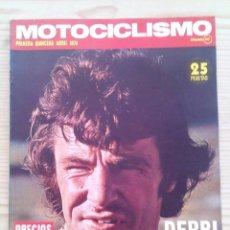 Coches y Motocicletas: REVISTA MOTOCICLISMO 1974 ABRIL. Lote 131190560