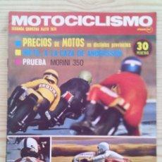Coches y Motocicletas: REVISTA MOTOCICLISMO 1974 MAYO SEGUNDA QUINCENA - SIN POSTER. Lote 131276827