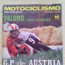 Coches y Motocicletas: REVISTA MOTOCICLISMO 1975 MAYO SEGUNDA QUINCENA - SIN POSTER. Lote 131279451