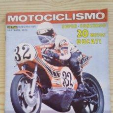 Coches y Motocicletas: REVISTA MOTOCICLISMO 1976 ABRIL. Lote 131280039