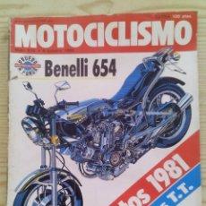 Coches y Motocicletas: REVISTA MOTOCICLISMO 1980 4 OCTUBRE. Lote 131284911