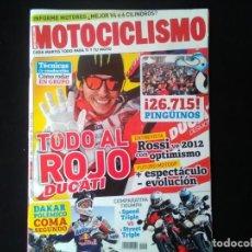 Coches y Motocicletas: MOTOCICLISMO 2291 DUCATI AL ROJO VIVO .COMPARATIVA TRIUMPH .BMW G 650.YAMAHA XT 600 Z TENERE PINGUI. Lote 131399238
