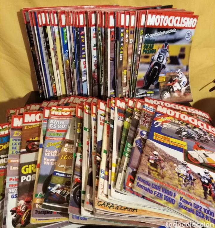 LOTE 98 REVISTAS MOTOCICLISMO 1987-89 COMPLETA - COLECCIONISMO (Coches y Motocicletas - Revistas de Motos y Motocicletas)