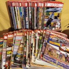 Coches y Motocicletas: LOTE 98 REVISTAS MOTOCICLISMO 1987-89 COMPLETA - COLECCIONISMO. Lote 131464947