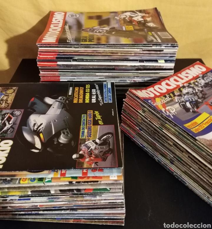 Coches y Motocicletas: Lote 98 Revistas Motociclismo 1987-89 Completa - Coleccionismo - Foto 2 - 131464947