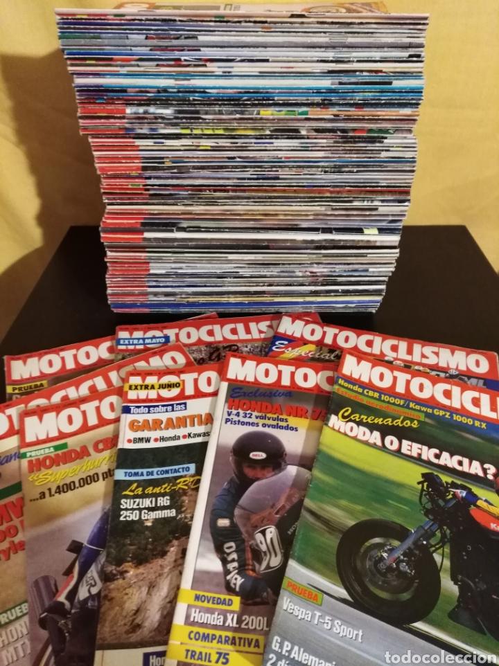 Coches y Motocicletas: Lote 98 Revistas Motociclismo 1987-89 Completa - Coleccionismo - Foto 3 - 131464947