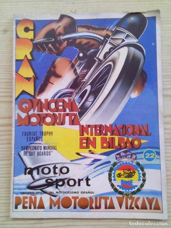 REVISTA MOTO SPORT 22 1973 ENERO (Coches y Motocicletas - Revistas de Motos y Motocicletas)