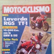 Coches y Motocicletas: REVISTA MOTOCICLISMO 1983 15 OCTUBRE. Lote 131704186