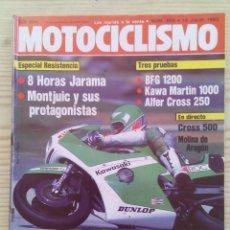 Coches y Motocicletas: REVISTA MOTOCICLISMO 1983 16 JULIO. Lote 131704234