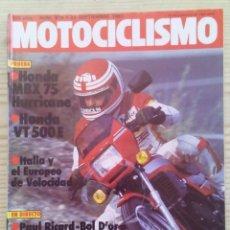 Coches y Motocicletas: REVISTA MOTOCICLISMO 1983 24 SEPTIEMBRE. Lote 131709266