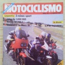 Coches y Motocicletas: REVISTA MOTOCICLISMO 1983 6 AGOSTO. Lote 131709698