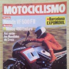 Coches y Motocicletas: REVISTA MOTOCICLISMO 1984 14 ABRIL. Lote 131709914