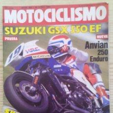 Coches y Motocicletas: REVISTA MOTOCICLISMO 1984 16 JUNIO. Lote 131710886