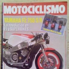 Coches y Motocicletas: REVISTA MOTOCICLISMO 1985 13 ABRIL. Lote 131713042