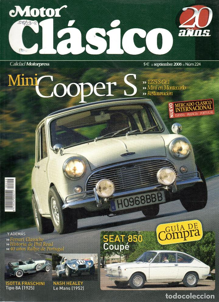 VESIV REVISTA MOTOR CLASICO Nº224 (Coches y Motocicletas - Revistas de Motos y Motocicletas)