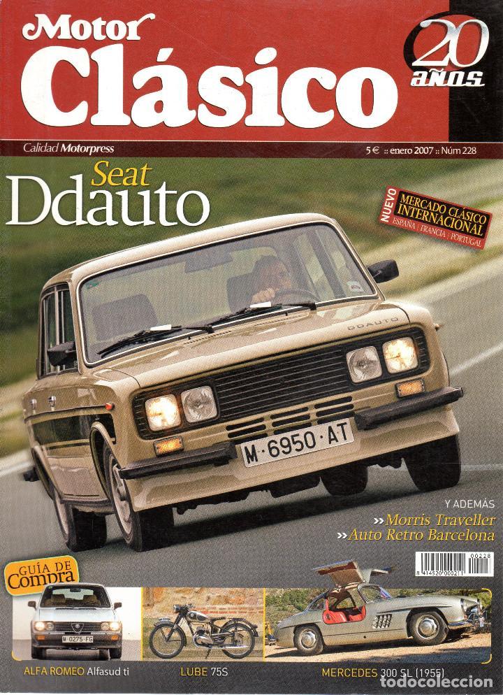 VESIV REVISTA MOTOR CLASICO Nº228 (Coches y Motocicletas - Revistas de Motos y Motocicletas)
